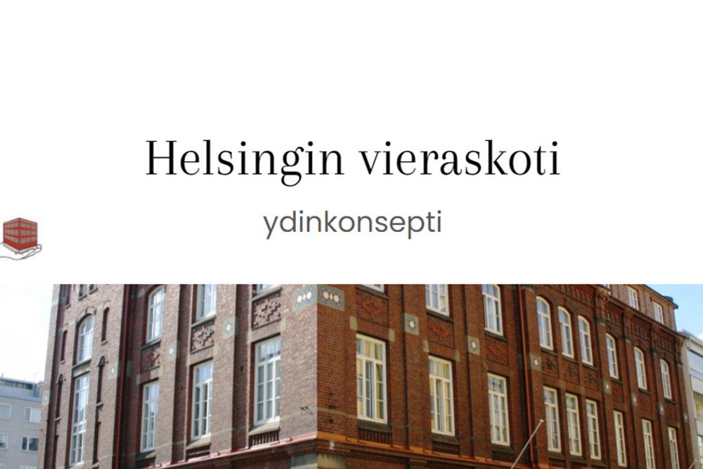 Image of Helsingin Vieraskoti building